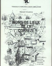 Noms de lieux de la Corrèze